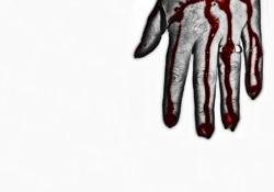 Blut an den Händen