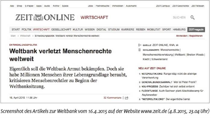 Screenshot-des-Artikels-zur-Weltbank-Zeitonline